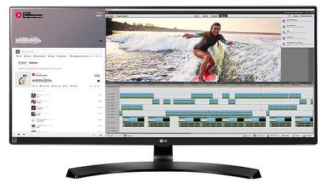 """LG 34UM88C-P - LED monitor 34"""" - 34UM88C-P.AEU + Herní myš A4tech Bloody V8 core 3 (v ceně 599 Kč)"""