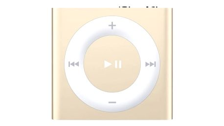 MP3 přehrávač Apple 2GB (MKM92HC/A) zlatý
