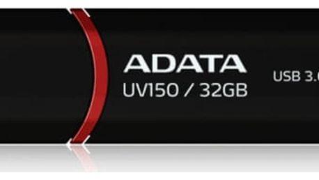 USB Flash A-Data UV150 32GB (AUV150-32G-RBK) černý USB 3.0