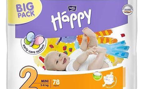 Plenky Bella Baby Happy Mini Big Pack 78 ks