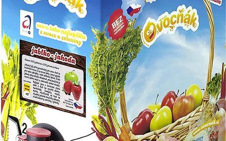 OVOCŇÁK Jablko-jahoda 3 L - ovocná šťáva