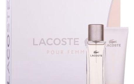 Lacoste Pour Femme dárková kazeta pro ženy parfémovaná voda 50 ml + tělové mléko 100 ml