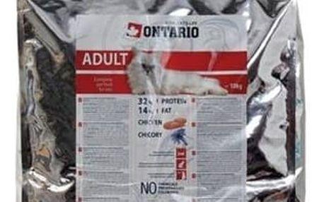 Granule Ontario Adult Chicken 10 kg + Doprava zdarma