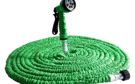 Samoroztahovací zahradní hadice - 3 barvy