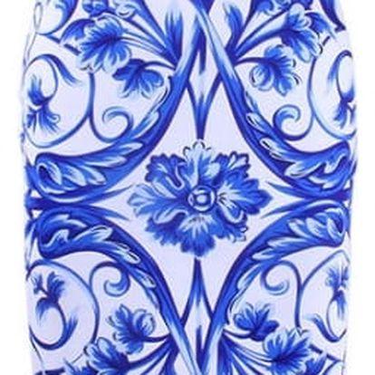 Dámská pouzdrová sukně s nádhernými motivy - 23 variant
