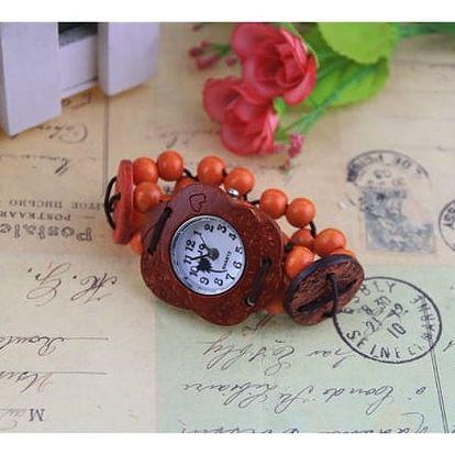 Přírodní analogové hodinky Coconut!