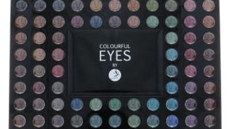 2K Colourful Eyes 98 Eye Shadow Palette 78,4 g oční stín pro ženy