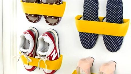 Samolepící držák na boty
