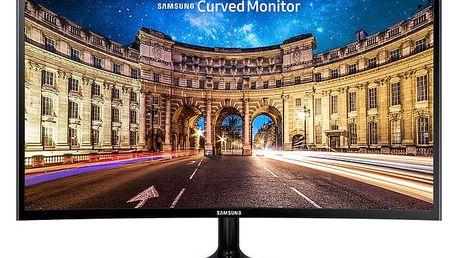 """Samsung C24F390F - LED monitor 24"""" - LC24F390FHUXEN + Herní Klávesnice A4tech G800V CZ (v hodnotě 449,-)"""