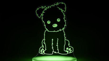 Dětské LED noční světýlko Aloka Puppy - doprava zdarma!
