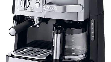 Espresso DeLonghi BCO 420.1 černé/stříbrné + Doprava zdarma