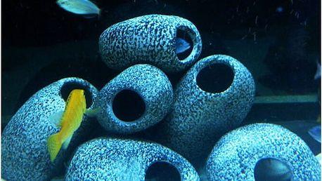 Akvarijní dekorace - keramický kámen