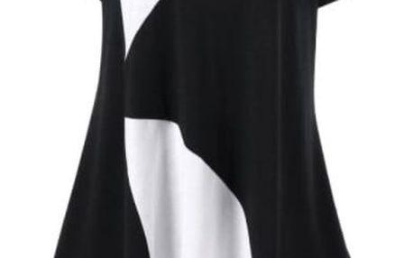 Dámské triko volného střihu - až do nadměrných velikostí