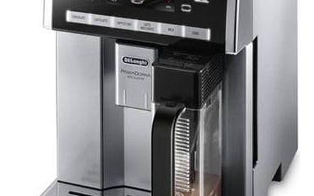 DeLonghi PrimaDonna Exclusive ESAM6900 černé/stříbrné