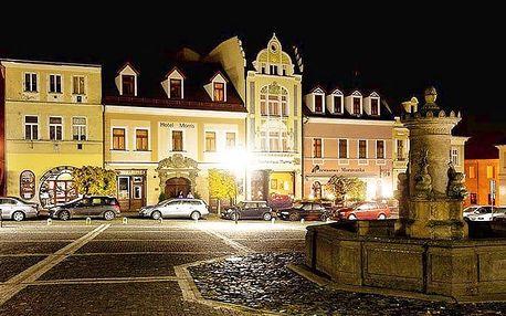 3denní wellness pobyt pro 2 s polopenzí v hotelu Morris v České Lípě