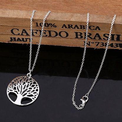 Dlouhý náhrdelník se stromem života