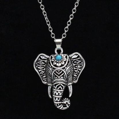 Řetízek s přívěskem sloní hlavy