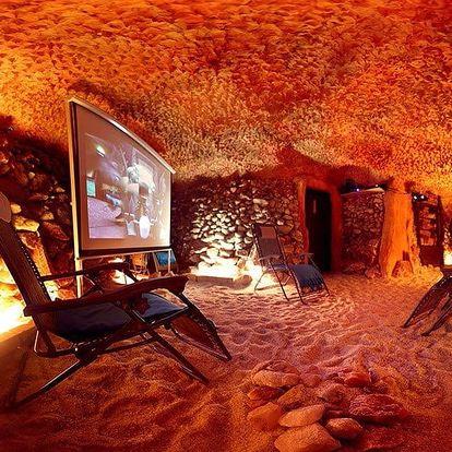 Pravá solná jeskyně pro zdraví a relax