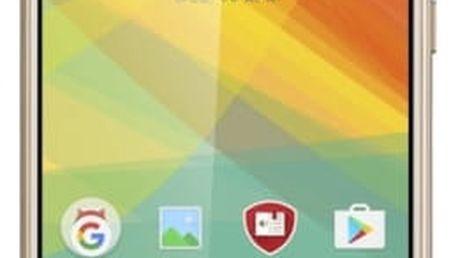 Mobilní telefon Prestigio Grace S7 Dual SIM (PSP7551DUOGOLD) zlatý