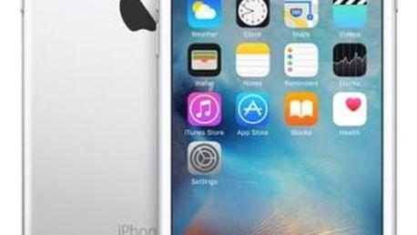 Mobilní telefon Apple 128GB - Silver (MKQU2CN/A) stříbrný