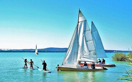 Báječná dovolená u Balatonu: polopenze i dítě do 5,9 let zdarma