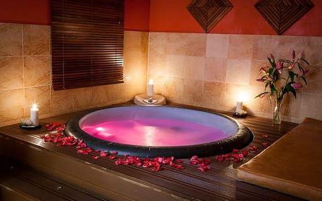 Luxusní privátní vířivka se saunou pro 2 osoby