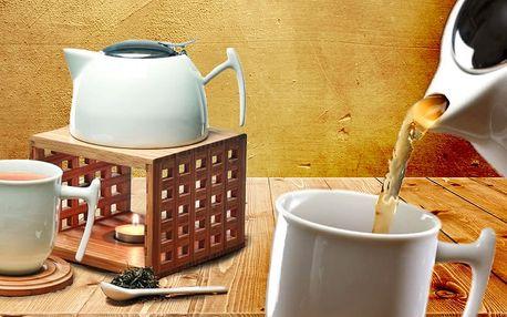 Čajový set či porcelánová sada pro čajový dýchánek