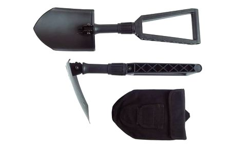 Rýč Fiskars ARMY, skládací (131320) černé