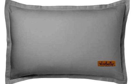 Šedý povlak na polštář Atelie Lisos, 50x70cm