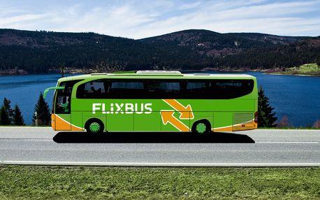 Kupon na 10% slevu na jízdenky FlixBus