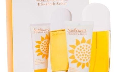 Elizabeth Arden Sunflowers toaletní voda dárková sada pro ženy - Edt 100ml + 100ml tělové mléko