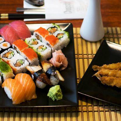 Sushi menu plné asijských specialit pro 2 či 4