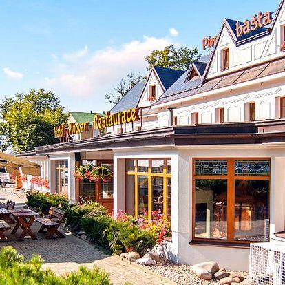 3–5 dní v krkonošském hotelu Pivovarská Bašta