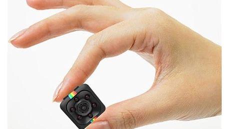 Mini kamera s detekcí pohybu - Černá