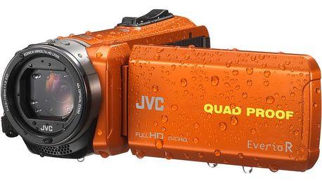 JVC GZ R435D, oranžová - 4975769447181
