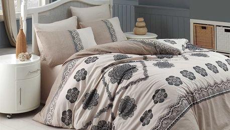 Povlečení 100% bavlna Cotton lace se dvěma povlaky na polštář