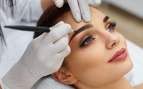 Dokonalé obočí: 3D permanentní make-up