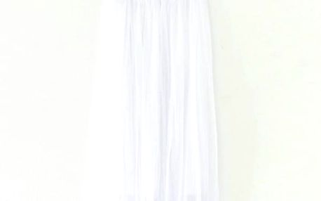 Lehká sukně na léto - Bílá