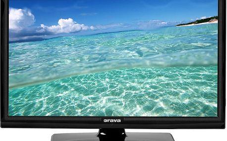 """Orava LED TV 22"""" uhl.56cm + DVD přehrávač LT-613 B82B"""