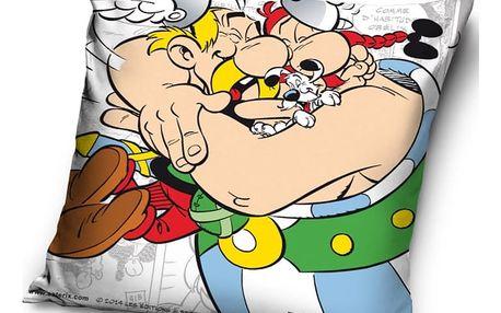 Tip Trade Polštářek Asterix a Obelix Friends, 40 x 40 cm,