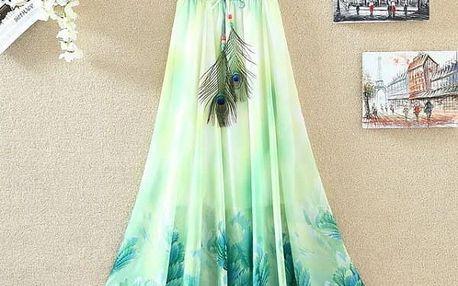 Lehká dlouhá letní sukně - 22 variant