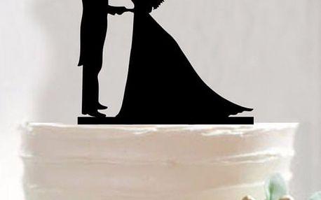 Vrchní dekorace na svatební dort