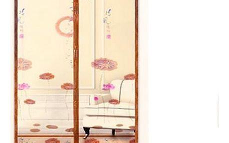 Automaticky se zavírající síť proti hmyzu do dveří - 01 - 100cm x 210cm