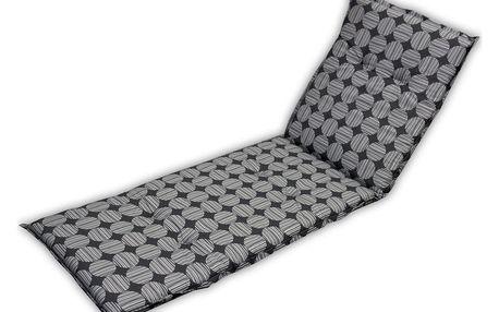 Rojaplast Polstrování na lehátko NAXOS LIEGE - šedé - 11640210