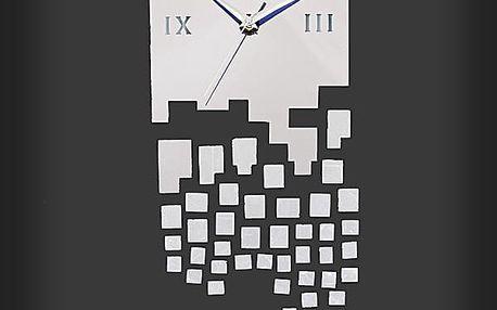 Stylové nalepovací hodiny na zeď