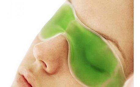 Gelová chladící maska pro unavené oči - 4 barvy