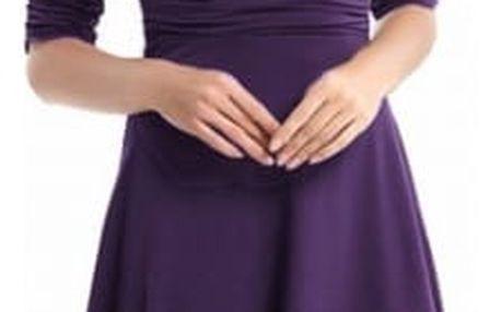 Elegantní šaty ke kolenům - choice o - velikost č. 5