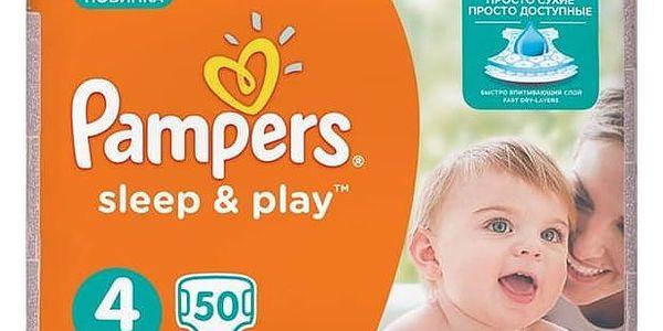 Plenky Pampers Sleep&Play , 4 maxi, 50 ks
