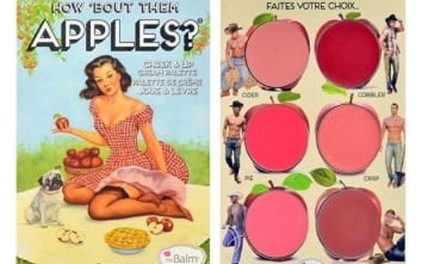 TheBalm How Bout Them Apples? Lip & Cheek Cream Palette 20 g dekorativní kazeta pro ženy