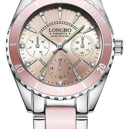 Elegantní náramkové hodinky - 2 barvy